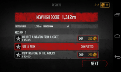 Into the Dead - New high score