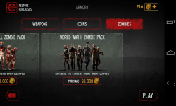 Into the Dead - Unlock new packs of zombies
