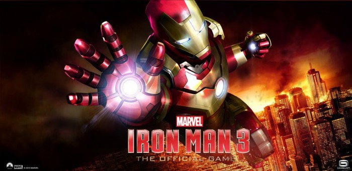 Iron Man 3 – The Official Game now available to play!