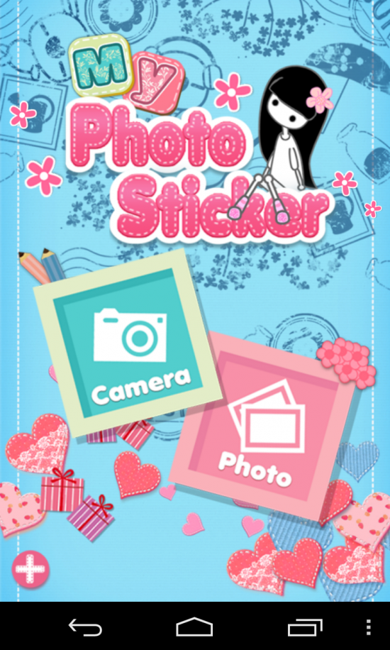 My Photo Sticker – create cute stickers on pics, ideal for your daughter's phone