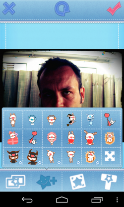 My Photo Sticker - Character tab