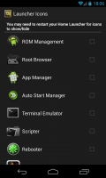 ROM Toolbox Pro - Launcher icons