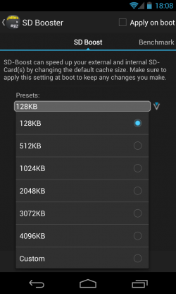 ROM Toolbox Pro - SD boost
