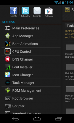 ROM Toolbox Pro - Settings