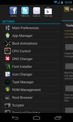 ROM Toolbox Pro - Settings