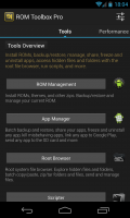 ROM Toolbox Pro - Tools