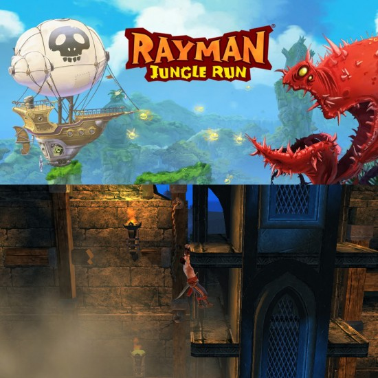 Rayman Jungle Run updated with 20 new levels & Prince of Persia The Shadow and The Flame announced