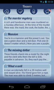 Riddles, Brain Teasers, Logic - List