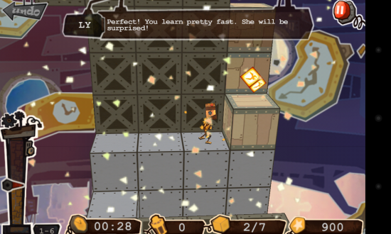 Robo5 – who'd thought shifting boxes could be so challenging & fun, play this platform puzzler!