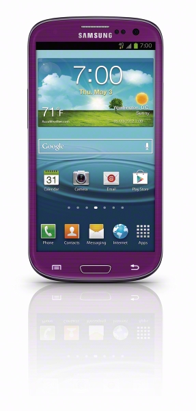 Get her a purple Galaxy S3 from Sprint for $100