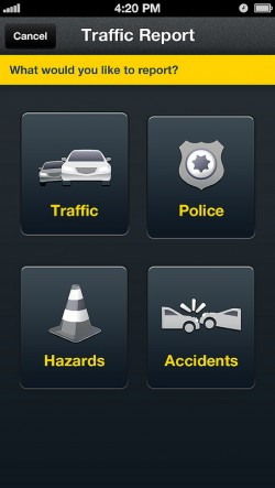 Scout for Phones - Traffic Report