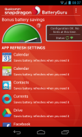 Snapdragon BatteryGuru (Beta) - App refresh settings