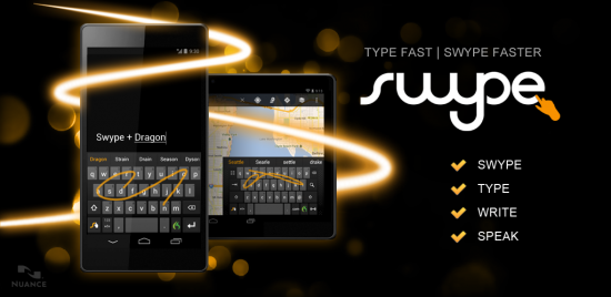 Swype finally available in Google Play!