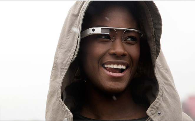 Here's what you see when you wear Google Glass (Video)