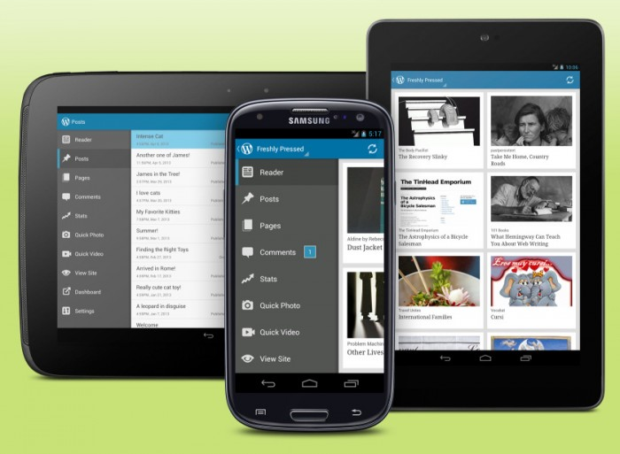 Hooray! WordPress for Android updated