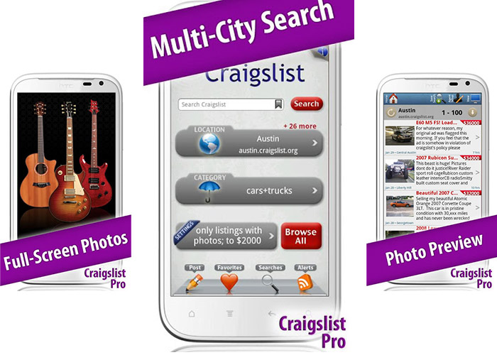 4 Best Craigslist Android Apps