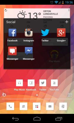 Buzz Launcher - Folders