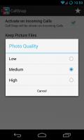 CallSnap - Pic quality