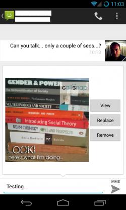 CallSnap - Send MMS