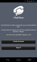 ChatTime - Create new account