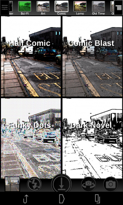 Camera 2 - Comic selection