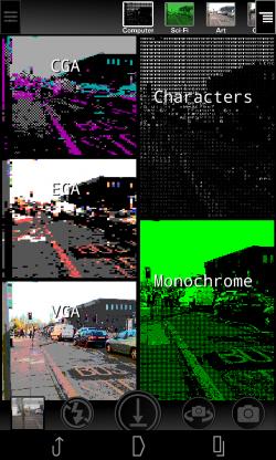 Camera 2 - Computer selection