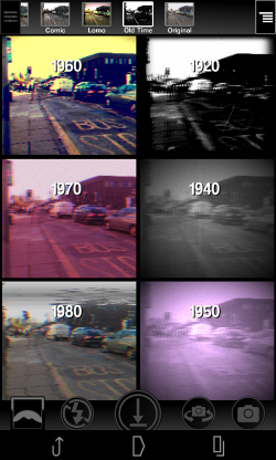 Camera 2 - Old Time choices