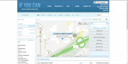 Catch Me If You Can - Web interface