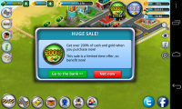 City Island - IAP sales