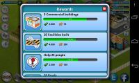 City Island - Rewards