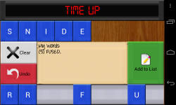 Countdown Game for Android - Word creation