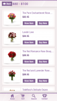 Florist One - Browse by Price
