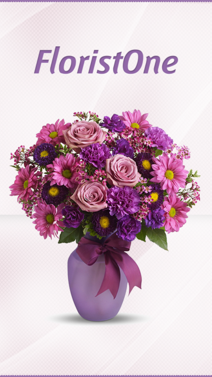 Florist One – easily order beautiful floral arrangements on your phone or tablet!