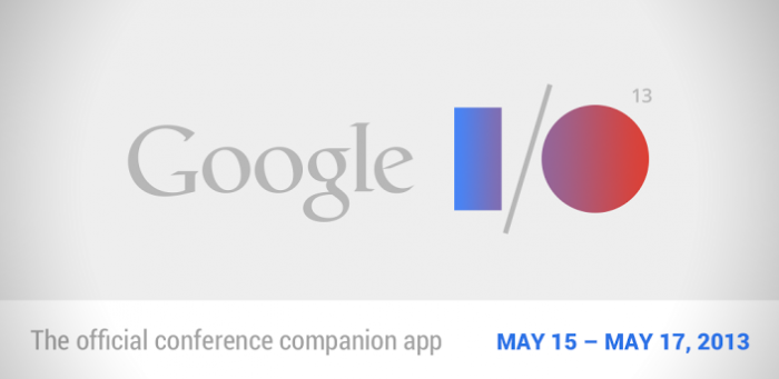 Google I/O 2013 app updated. Watch conference from the app!