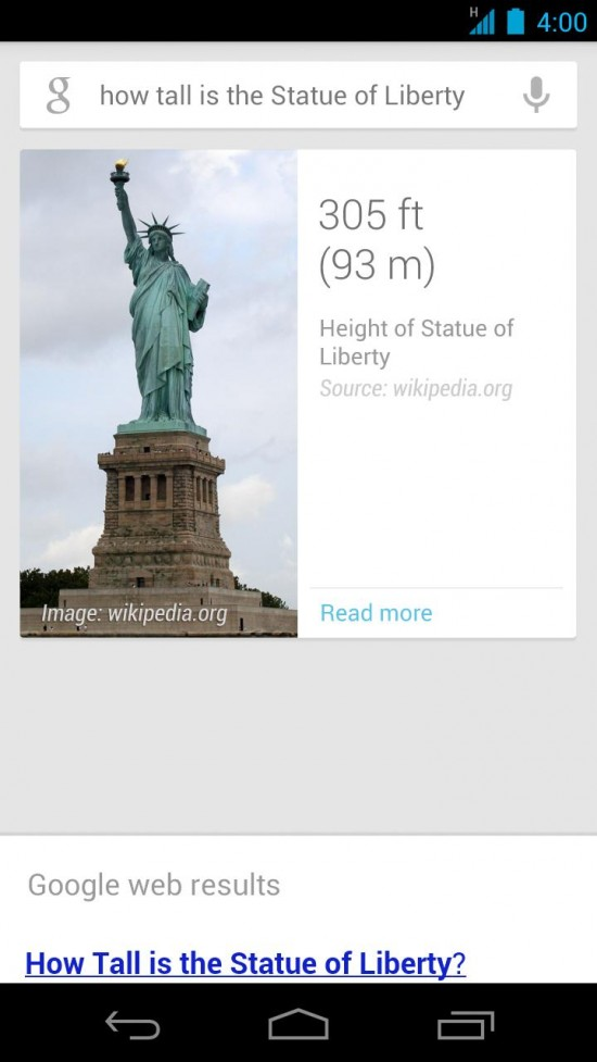 Hands-on with Conversational Search on Google Now