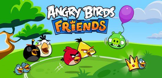 Annoy your Facebook friends with Angry Birds Friends