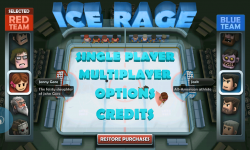 Ice Rage - Menu