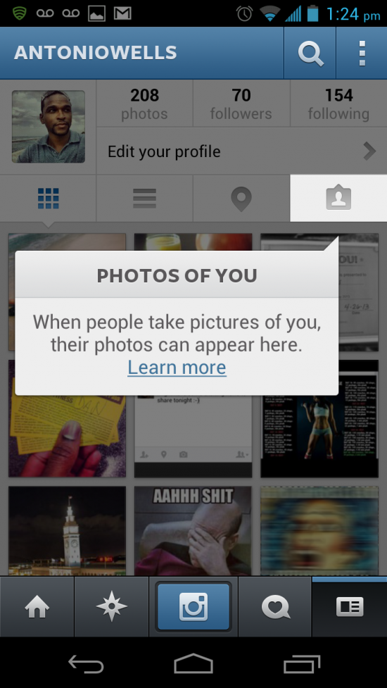 "Instagram adds ""Photos of You"" tagging feature (turning into Facebook nightmare)"