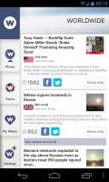 NewsWhip - Worldwide news stream