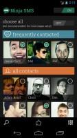 Ninja SMS - Pop up windows