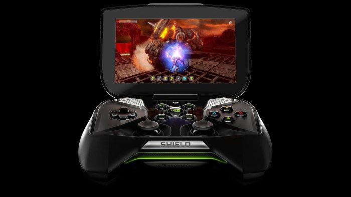 Project SHIELD, Android based handheld gaming device, available for pre-order for $349