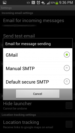 SMS SPY Get SMS on Email – Dont Configure Gmail Use Default