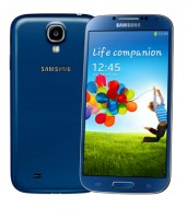 Samsung GALAXY S4 - Front Back - Artic Blue