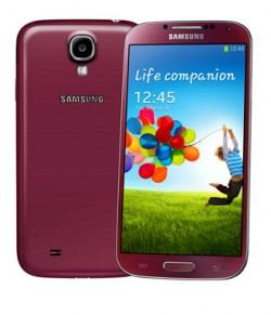 Samsung GALAXY S4 - Front Back - Red Aurora