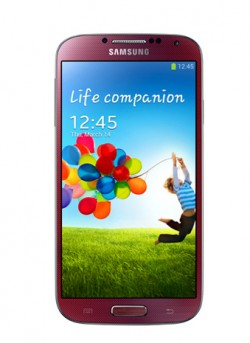Samsung GALAXY S4 - Red Aurora