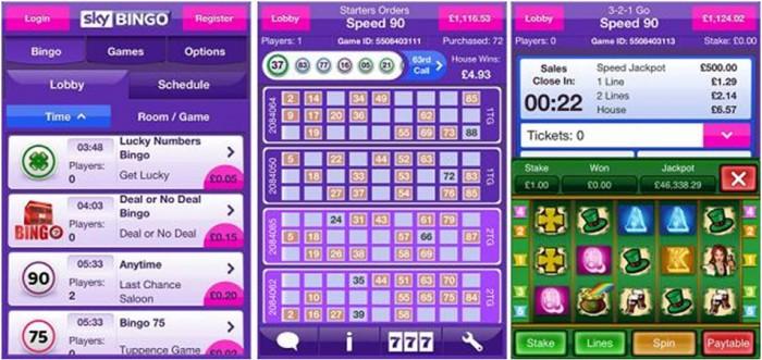 Sky Bingo Mobile