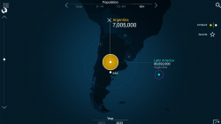 Urban World - 2025 Argentina Population