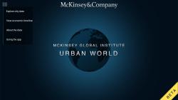 Urban World - Start Screen