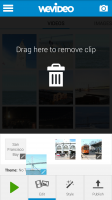 WeVideo Video Editor - Remove Clip