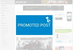 Advertising Placements: Promoted Post